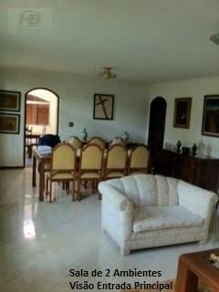 casa residencial à venda, parque continental, são paulo. - ca0711