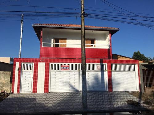 casa residencial à venda, parque das américas, praia grande. - ca0183