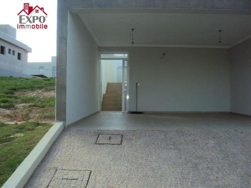 casa residencial à venda, parque dos pomares, campinas. - ca0026