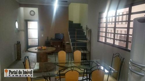 casa residencial à venda, parque jambeiro, campinas. - ca0191