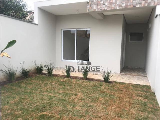 casa residencial à venda, parque jambeiro, campinas. - ca12360