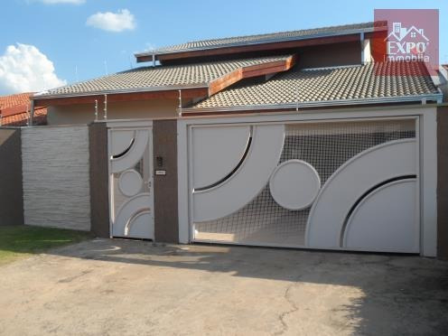casa residencial à venda, parque manoel de vasconcelos, sumaré. - ca0137