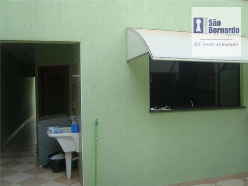 casa residencial à venda, parque nova carioba, americana. - ca0240