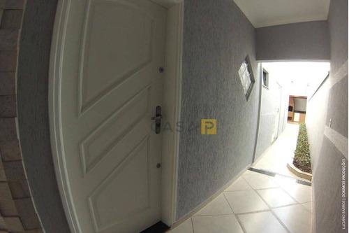 casa residencial à venda, parque nova carioba, americana. - ca0257