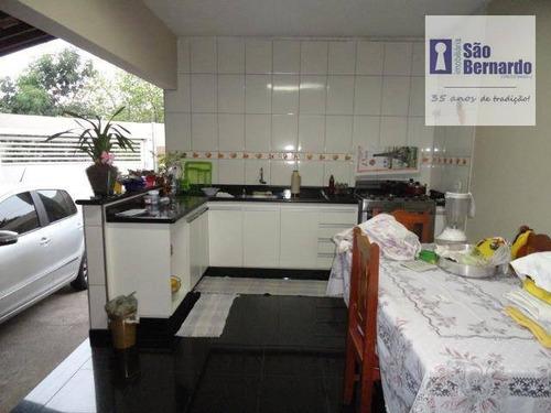 casa residencial à venda, parque nova carioba, americana. - ca0289