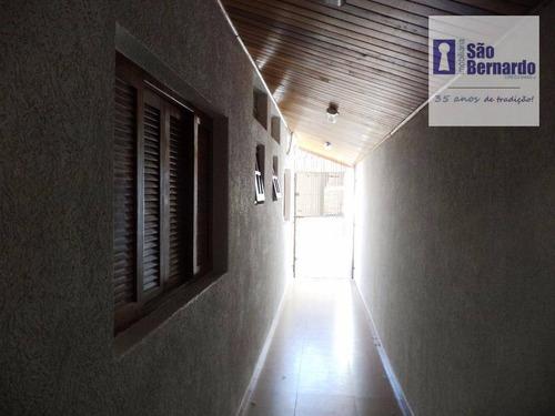casa residencial à venda, parque nova carioba, americana. - ca1007