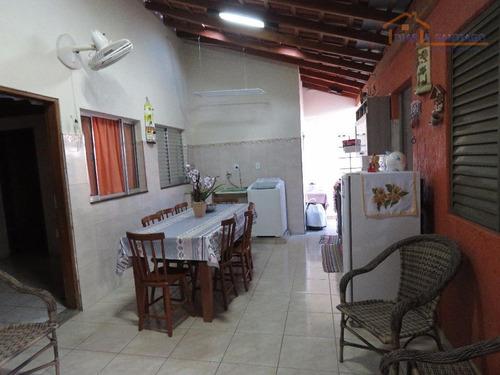 casa residencial à venda, parque nova veneza/inocoop (nova veneza), sumaré. - ca0133