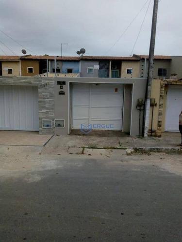 casa residencial à venda, parque novo mondubim, maracanaú. - ca0643