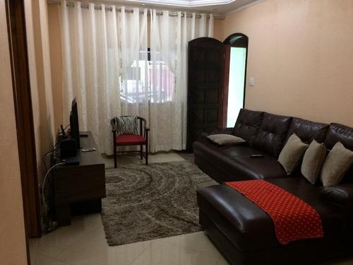 casa residencial à venda, parque novo oratório, santo andré. - ca0212