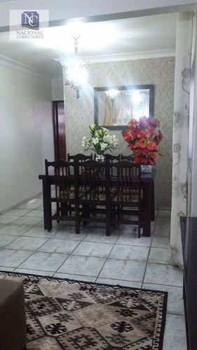 casa residencial à venda, parque novo oratório, santo andré. - ca2079