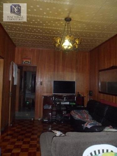 casa  residencial à venda, parque oratório, santo andré. - ca0978
