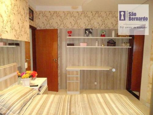 casa residencial à venda, parque residencial jaguari, americana. - ca0002