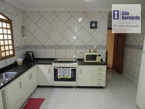 casa residencial à venda, parque residencial jaguari, americana. - ca0406