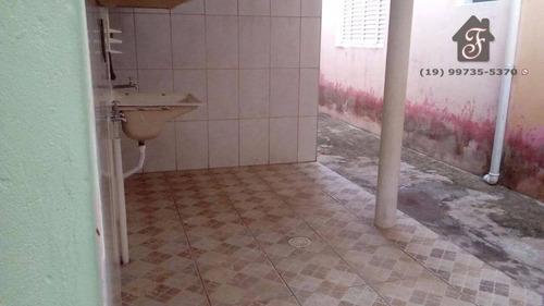 casa residencial à venda, parque residencial vila união, campinas. - ca0075