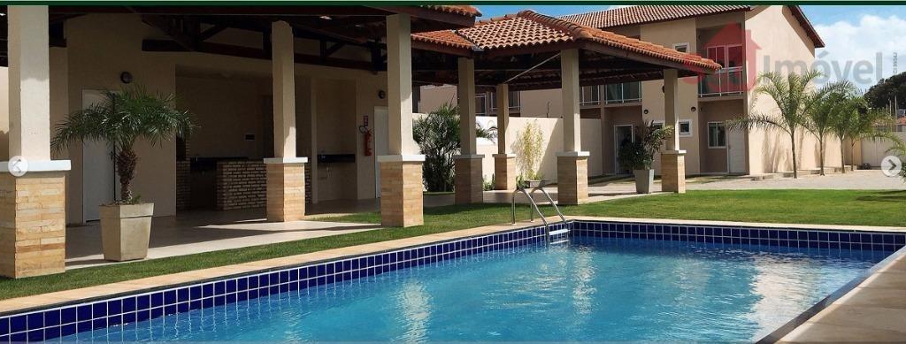 casa residencial à venda, parque santa maria, fortaleza. - ca0347