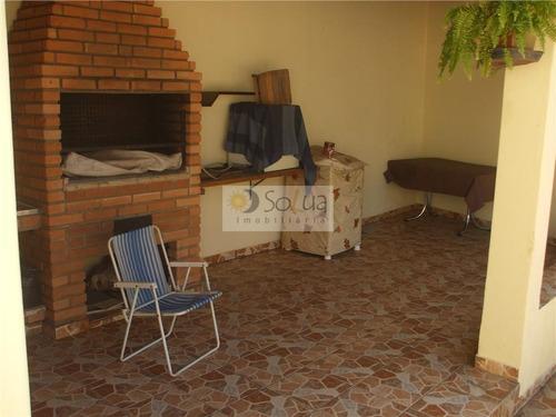casa residencial à venda, parque são quirino, campinas. - ca0090