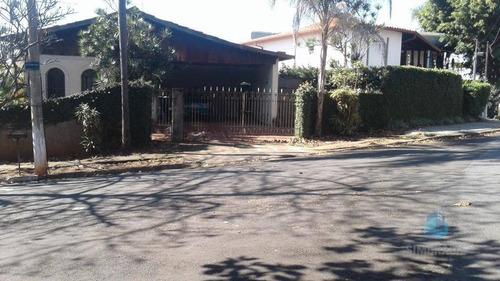 casa residencial à venda, parque são quirino, campinas. - ca0258