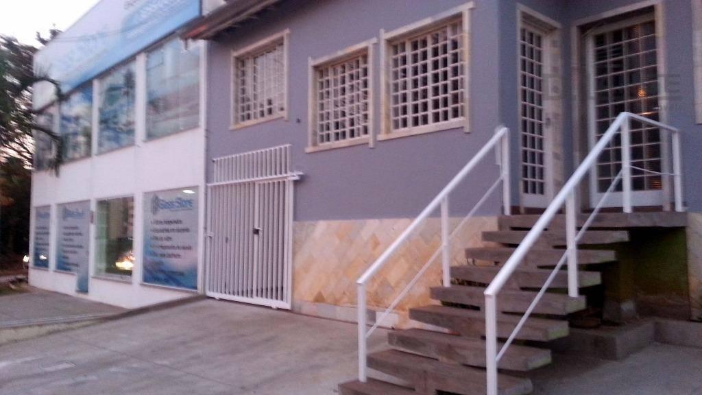casa residencial à venda, parque são quirino, campinas. - ca10116