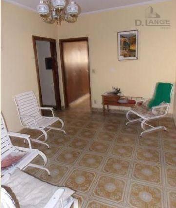 casa residencial à venda, parque são quirino, campinas. - ca10499