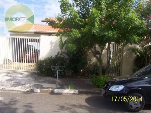 casa residencial à venda, parque terranova, valinhos. - ca1299