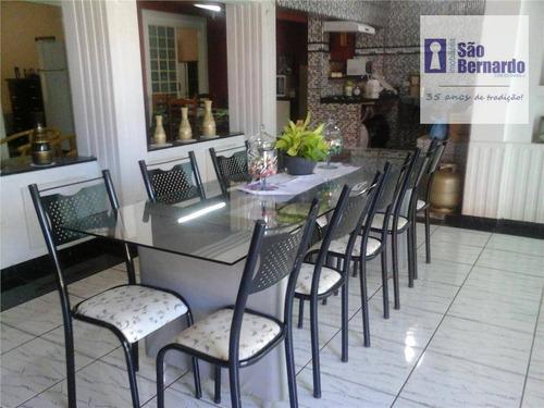 casa residencial à venda, patrimônio, brotas. - ca0415