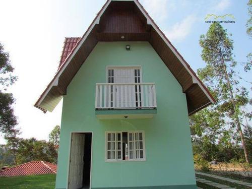casa  residencial à venda, pedra azul, domingos martins. - ca0114