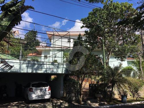casa residencial à venda, pendotiba, niterói. - ca1005