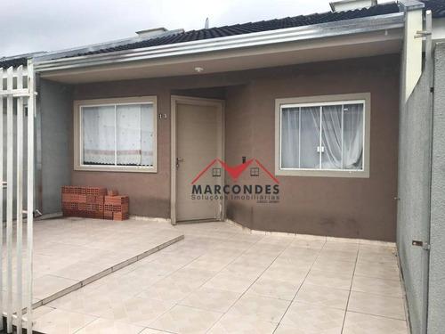 casa residencial à venda, pioneiros, fazenda rio grande. - ca0134