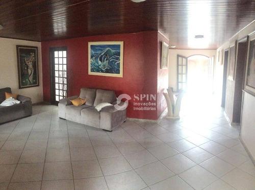 casa residencial à venda, piratininga, niterói. - ca0308