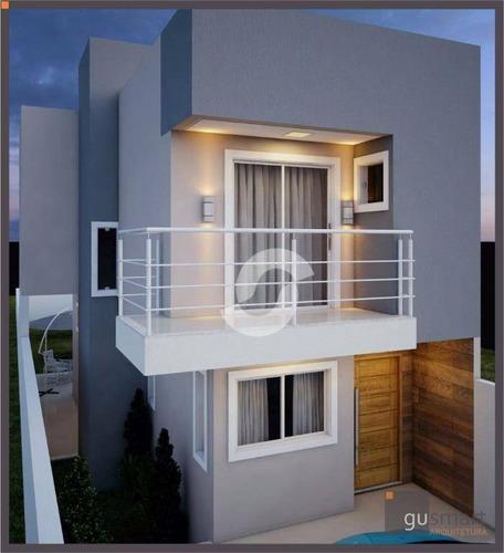 casa residencial à venda, piratininga, niterói. - ca0423