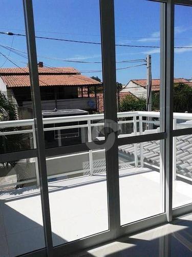 casa residencial à venda, piratininga, niterói. - ca0615