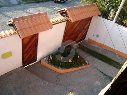 casa residencial à venda, piratininga, niterói. - ca1050