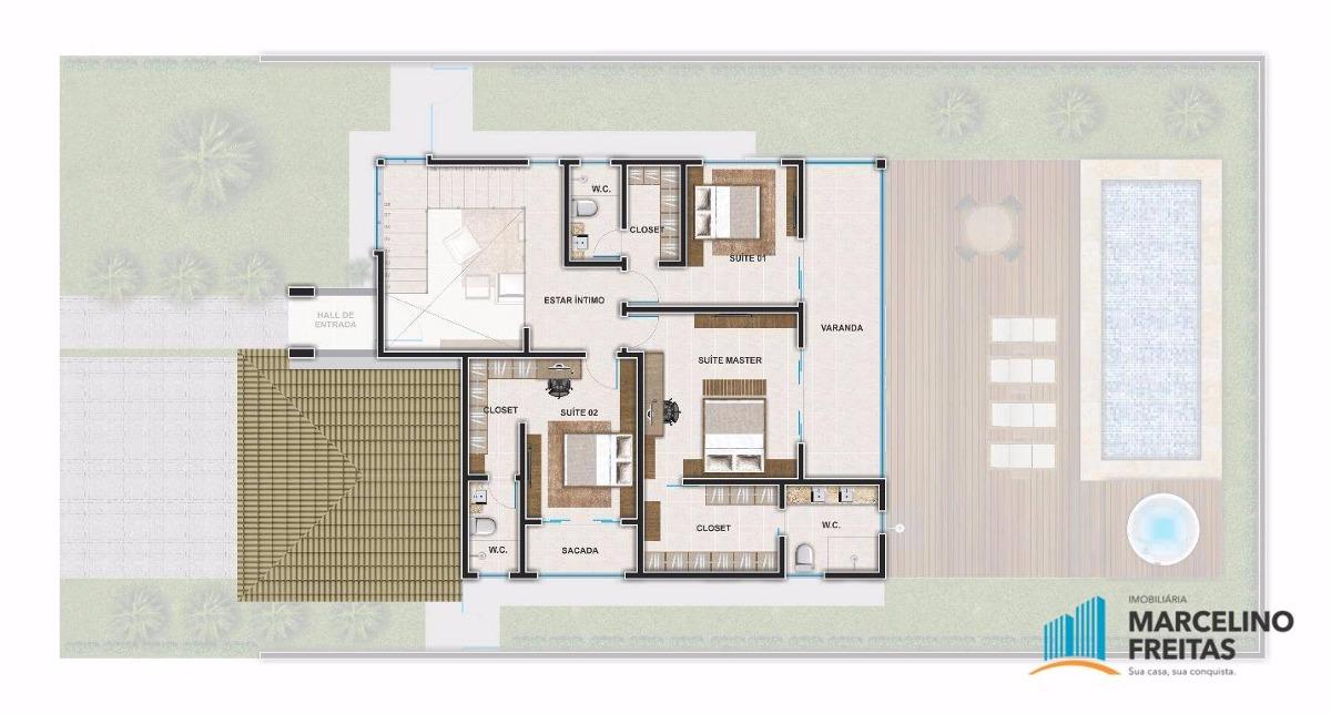 casa residencial à venda, pires façanha, eusébio. - codigo: ca1375 - ca1375