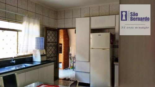 casa residencial à venda, planalto do sol ii, santa bárbara d'oeste. - ca1118