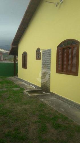 casa residencial à venda, ponta negra (ponta negra), maricá. - ca0909