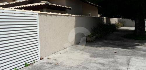 casa residencial à venda, ponta negra (ponta negra), maricá. - ca0922