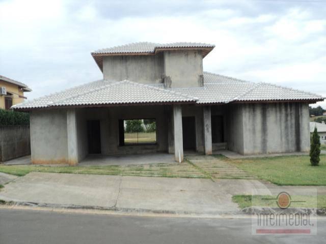casa residencial à venda, portal dos lagos, boituva. - ca1202