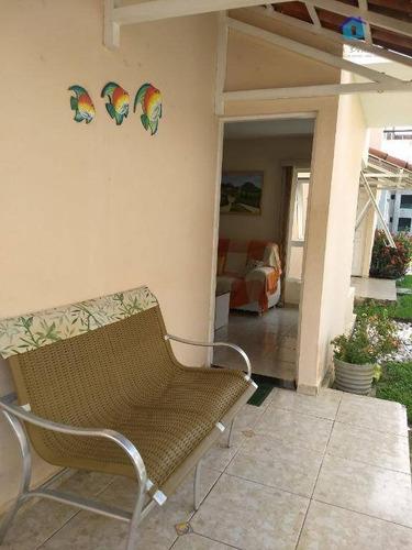 casa residencial à venda, praia bela, pitimbú. - ca0397