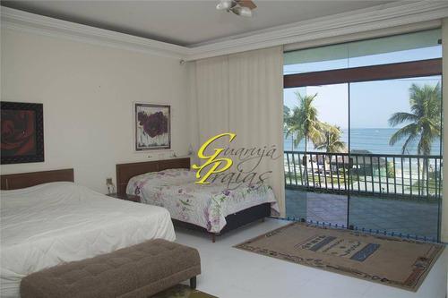 casa  residencial à venda, praia da enseada - frente mar, guarujá. - codigo: ca0058 - ca0058