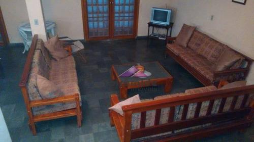 casa residencial à venda, praia do lázaro, ubatuba. - ca3420