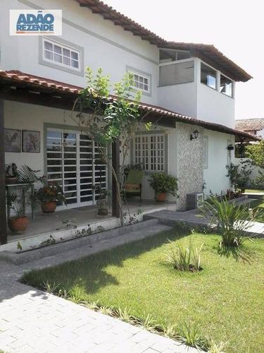 casa residencial à venda, praia seca, araruama. - ca0784