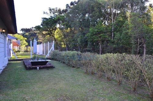 casa residencial à venda, quinta da serra, gramado. - ca0258