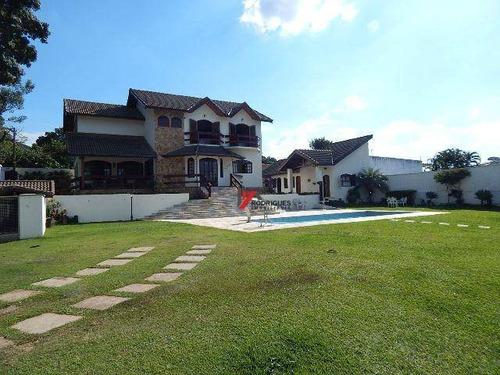 casa residencial à venda, rancho caiocara, atibaia - ca1554. - ca1554