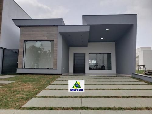 casa residencial à venda, real park, sumaré. - ca6831
