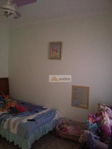 casa residencial à venda, recreio anhangüera, ribeirão preto. - ca1115