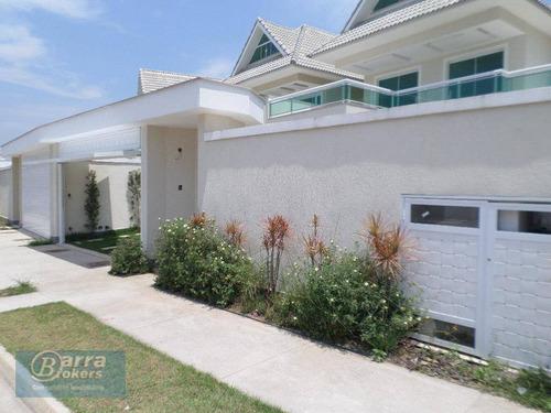 casa residencial à venda, recreio dos bandeirantes, rio de janeiro. - ca0618