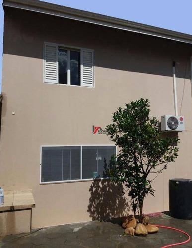 casa residencial à venda, recreio maristela, atibaia. - ca1204