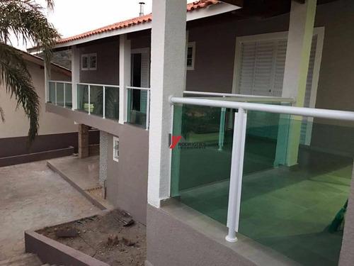 casa residencial à venda, recreio maristela, atibaia. - ca1575