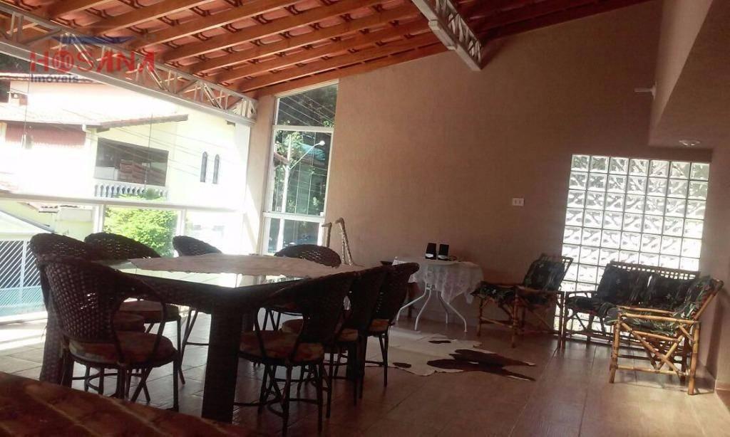 casa residencial à venda, região central, caieiras. - ca0444