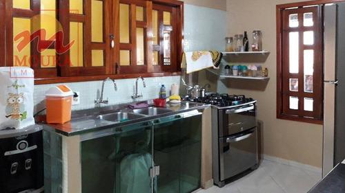 casa residencial à venda, renascer, macapá. - ca0440